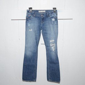 Hollister destroyed womens jeans size 3 R 7177